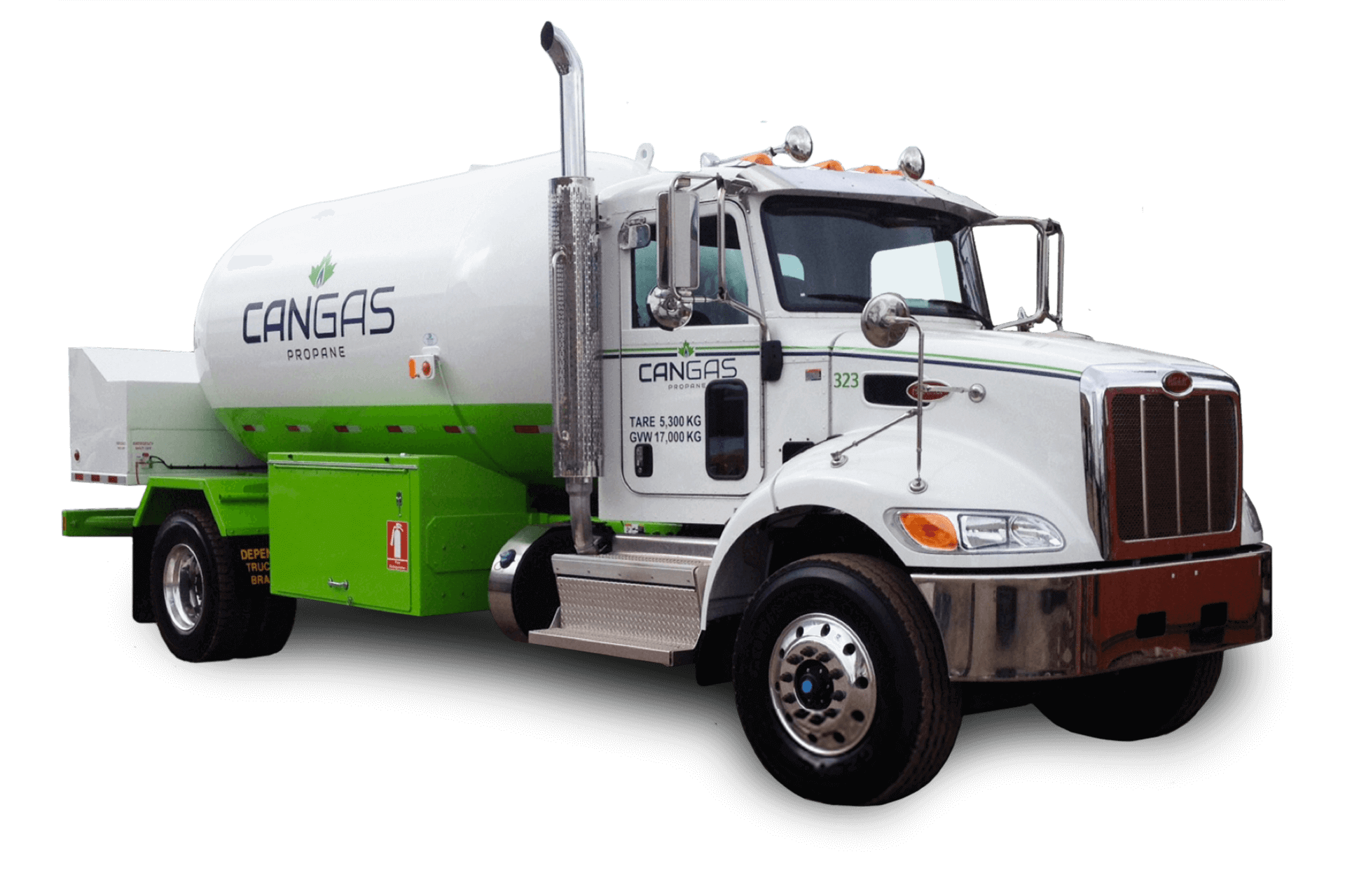 CanGas truck - Propane delivery