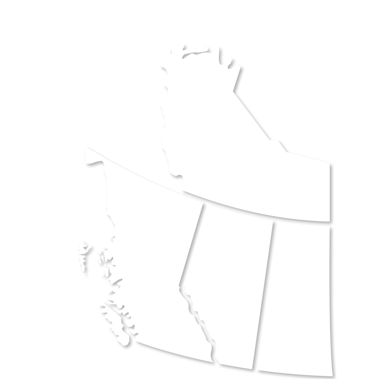 Map of Canada - Propane supplier
